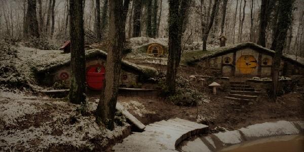Ormanya Tabiat Parkı Hobbit Evleri